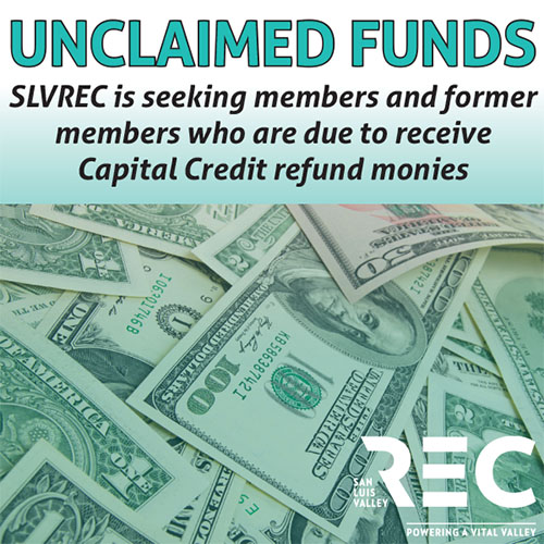 Unclaimed funds